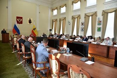 Заседание комиссии по координации работы по противодействию коррупции